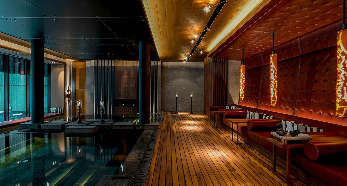 The Andermatt concert hall will be located near the Chedi Andermatt, a wellness-focused resort considered the best five-star deluxe hotel in Switzerland. / Courtesy of Andermatt Swiss Alps AG