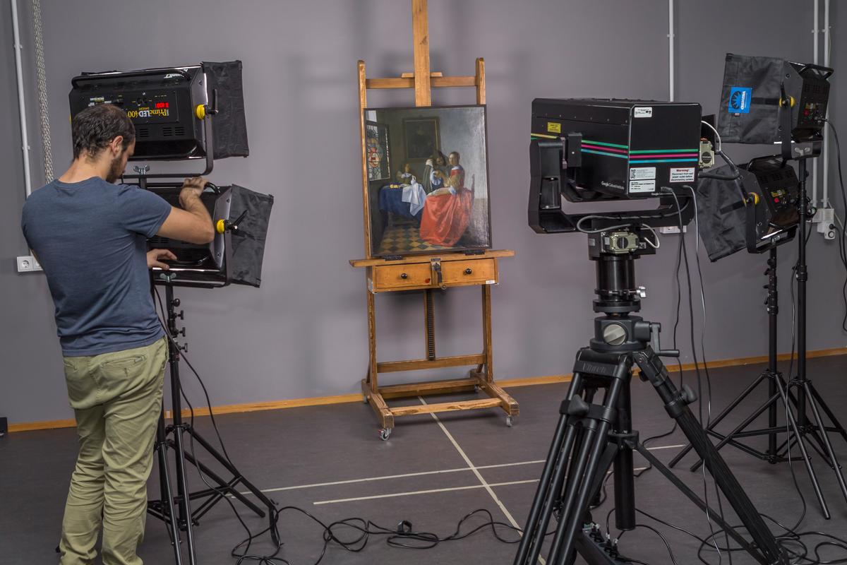 Ultra-high resolution cameras made specifically for artworks were deployed to several galleries around the world to create the highest-ever resolution image of eight of Vermeer's masterpieces