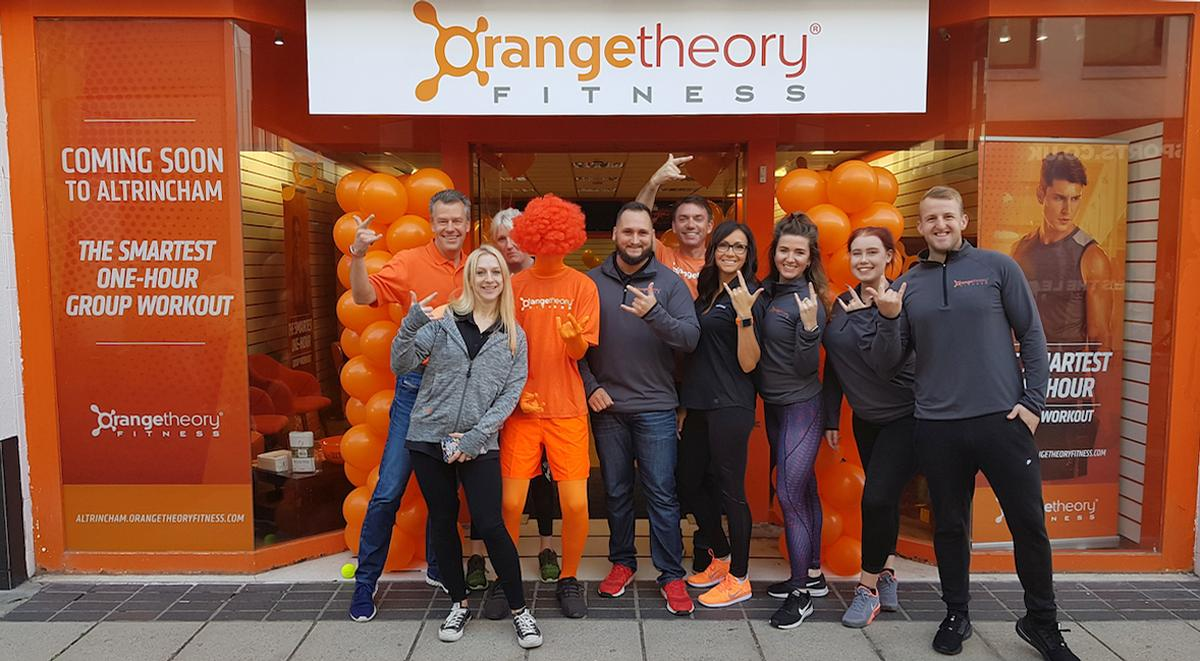 The Altrincham location is the first studio to open as part of a 40-site master franchise deal