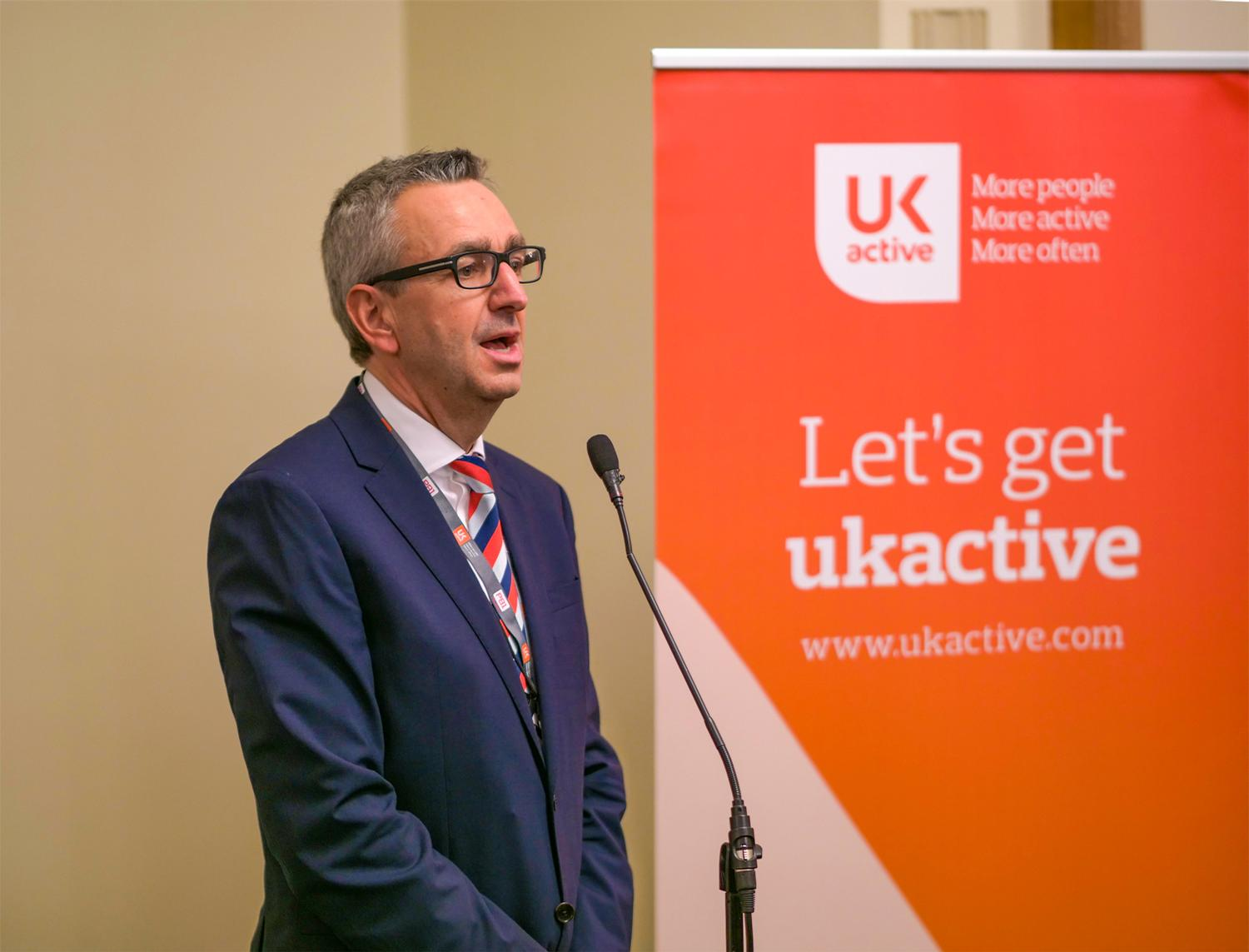 The event saw Sport England CEO Tim Hollingsworth give his maiden public speech