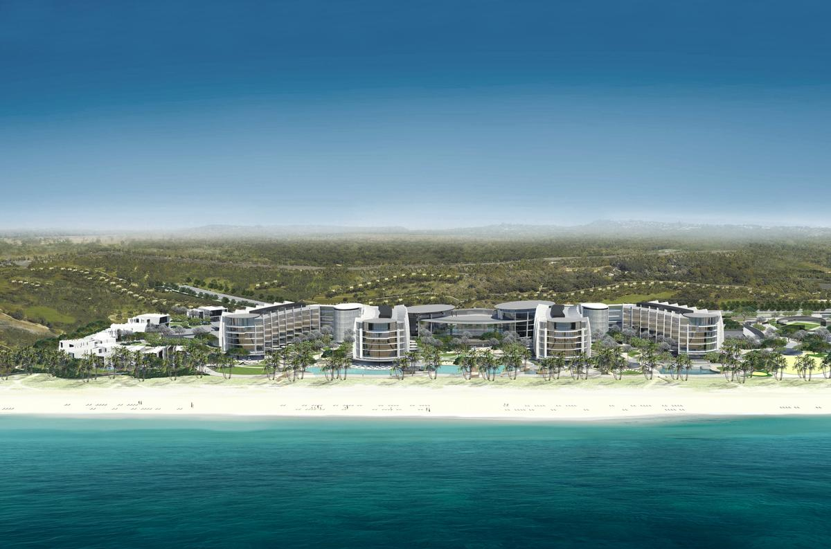 The new venue will also reportedly be Jumeirah's Group's first-ever eco-conscious resort. / Courtesy of the Jumeirah Group