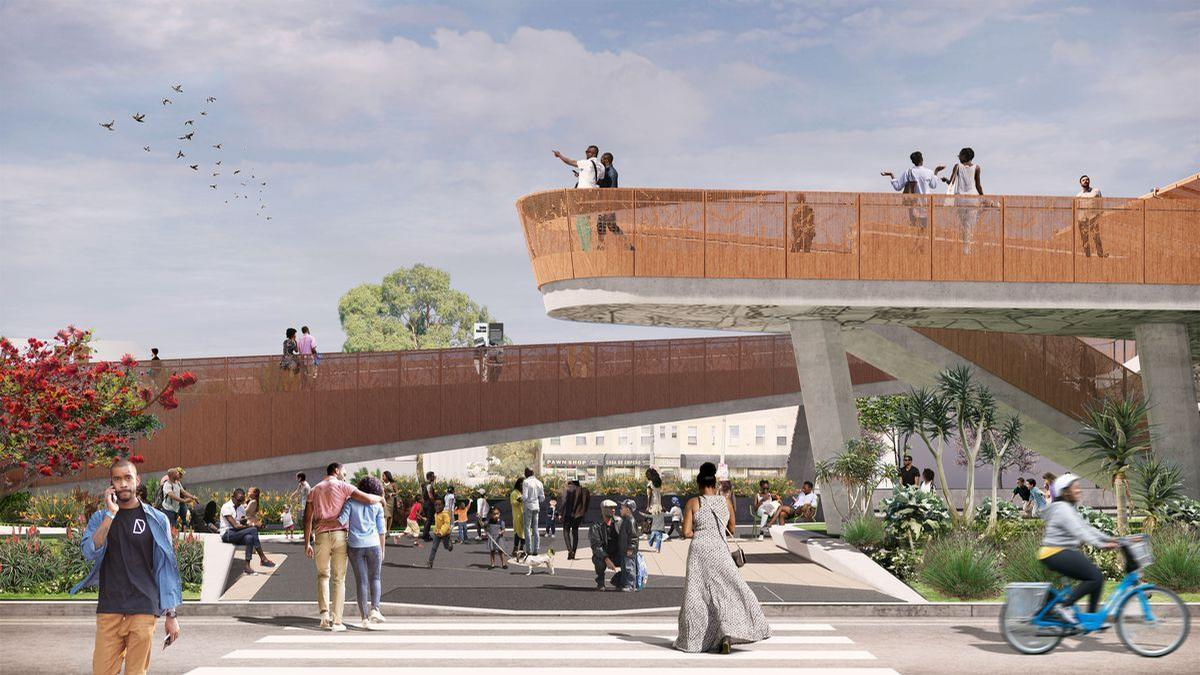 Destination Crenshaw could open to the public in 2020. / Courtesy of Destination Crenshaw