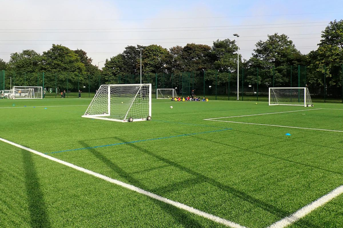 The three hubs will together provide a total of 10 full-size, floodlit 3G synthetic turf pitches
