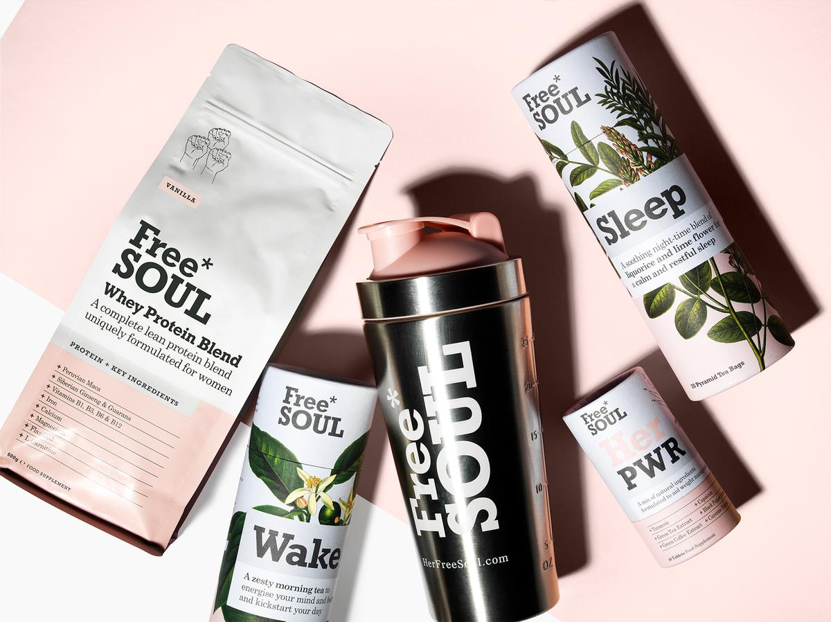 Free Soul works with nutritionists to create products tailored for women