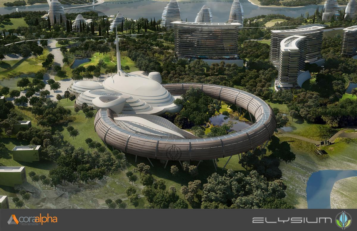 Elysium City is expected to be completed in 2028. / Courtesy of Cora Alpha