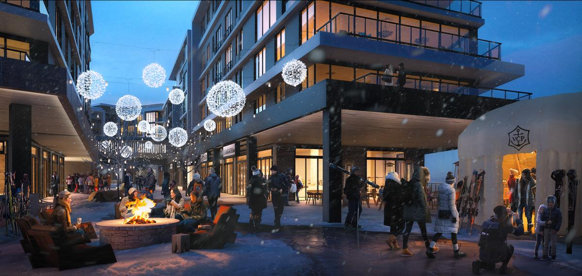 The property will also accommodate space for public plazas, restaurants, and retail outlets. / Courtesy of Pendry Hotels
