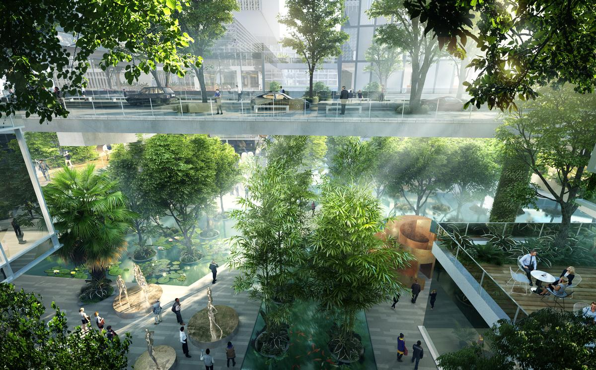 Arup is serving as the project's sustainability consultant. / Courtesy of MVRDV