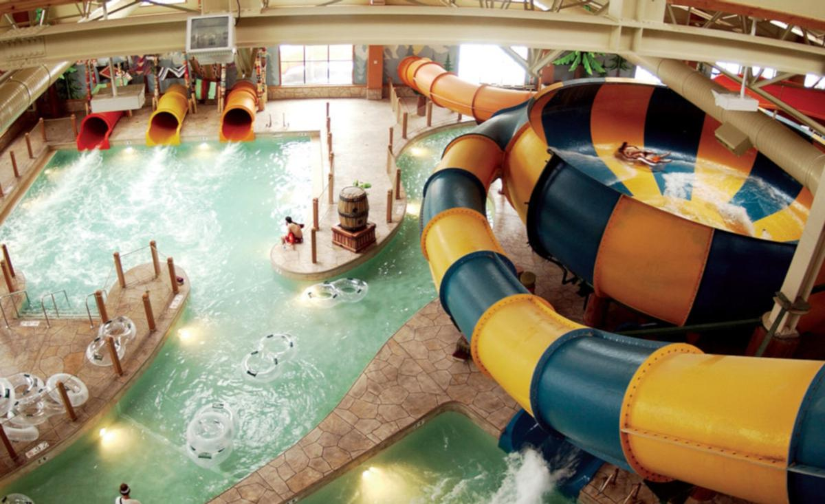 Great Wolf operates 18 water parks across the US and Canada
