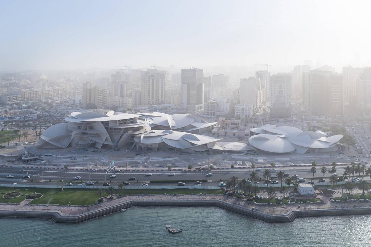 The national museum will rise in Doha. / Courtesy of Jean Nouvel