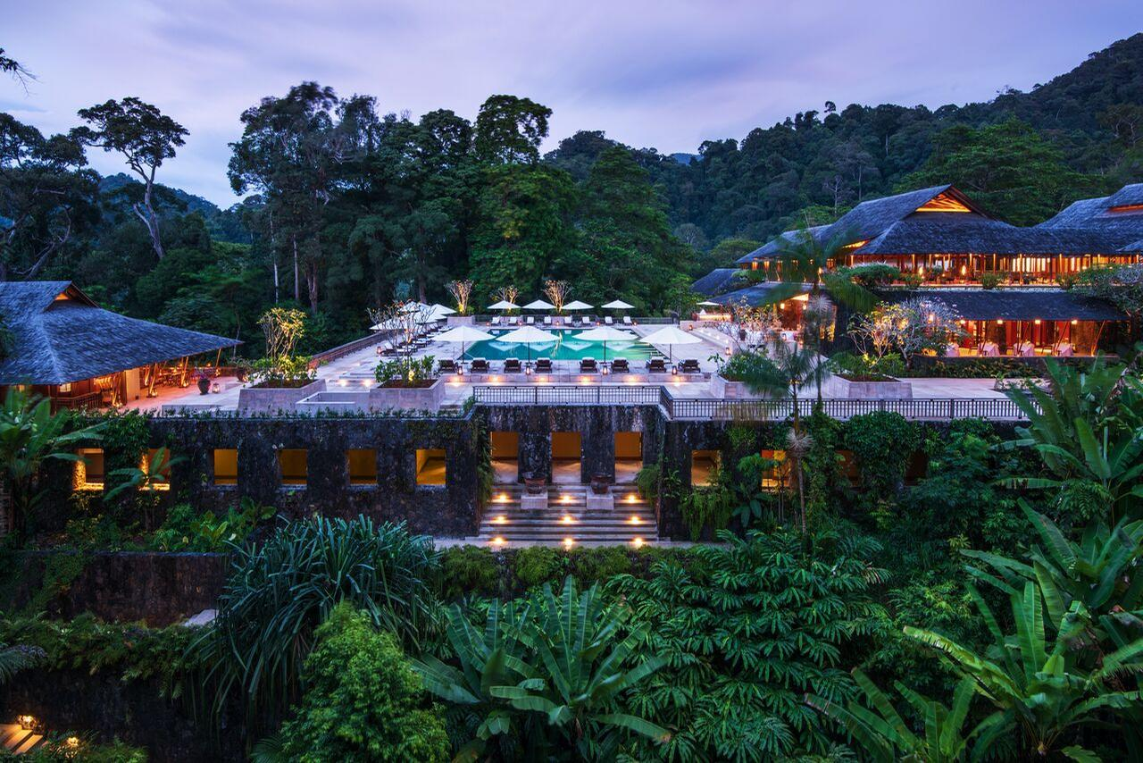 French architecture studio D2LA were tasked with overseeing the resort's refurbishment. / Courtesy of Datai Langkawi