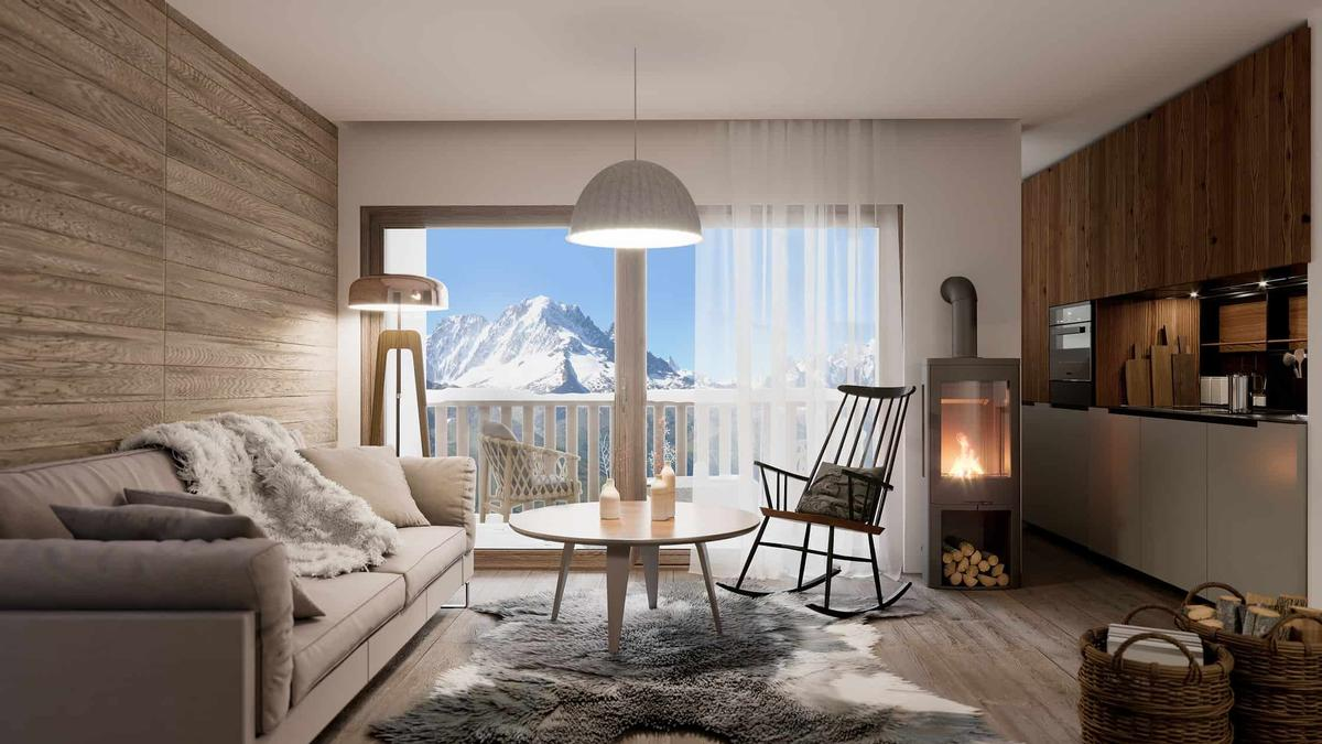 Le Massif features 80 rooms and suites, as well as a number of wellness facilities. / Courtesy of IHC