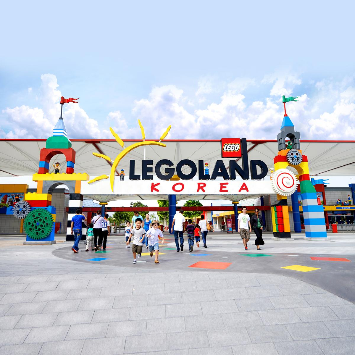 The Korean theme park will be the tenth Legoland Park – with more planned for the future / Merlin Entertainments