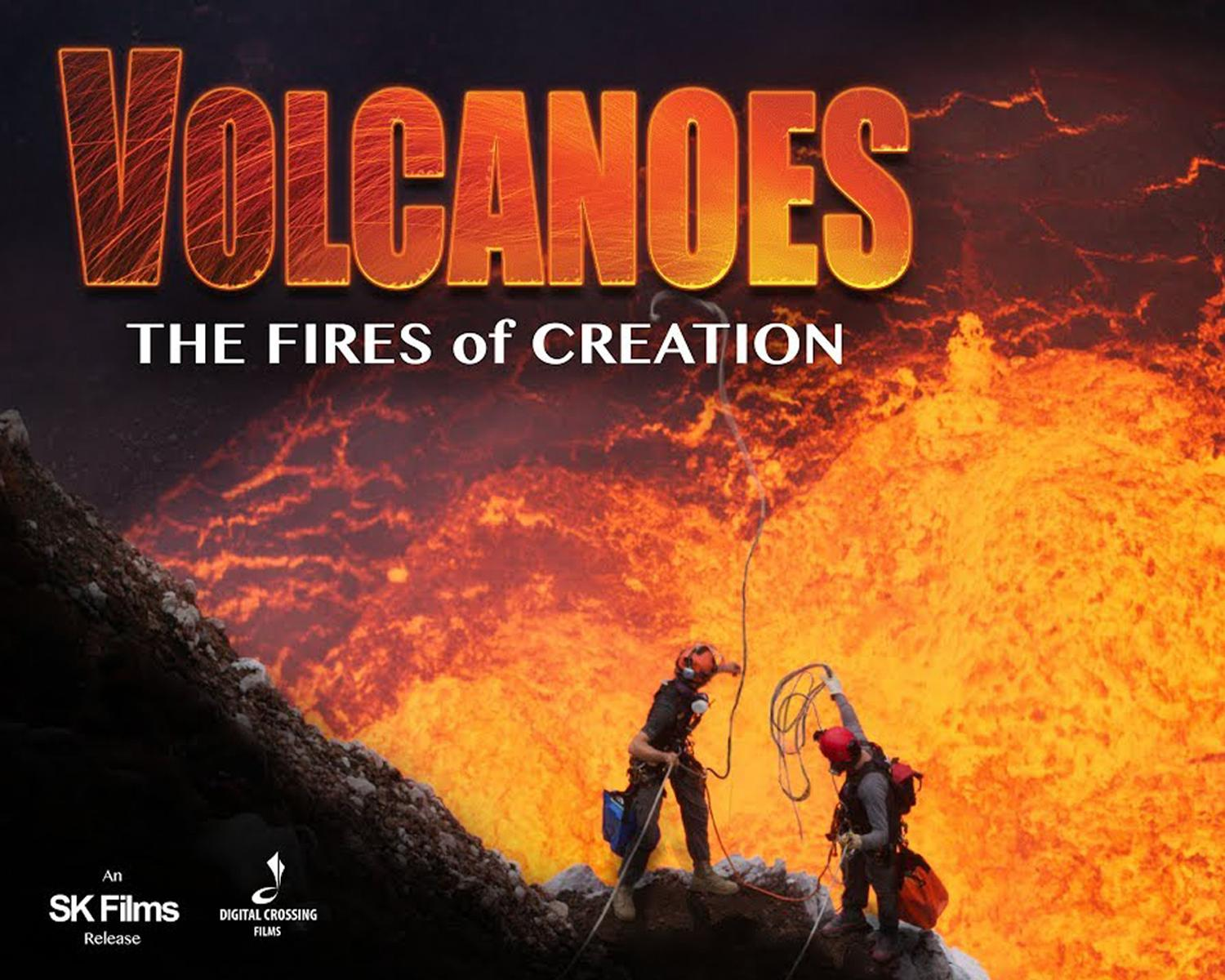 Volcanoes 3D takes guests on a thrilling adventure with explorer Carsten Peter