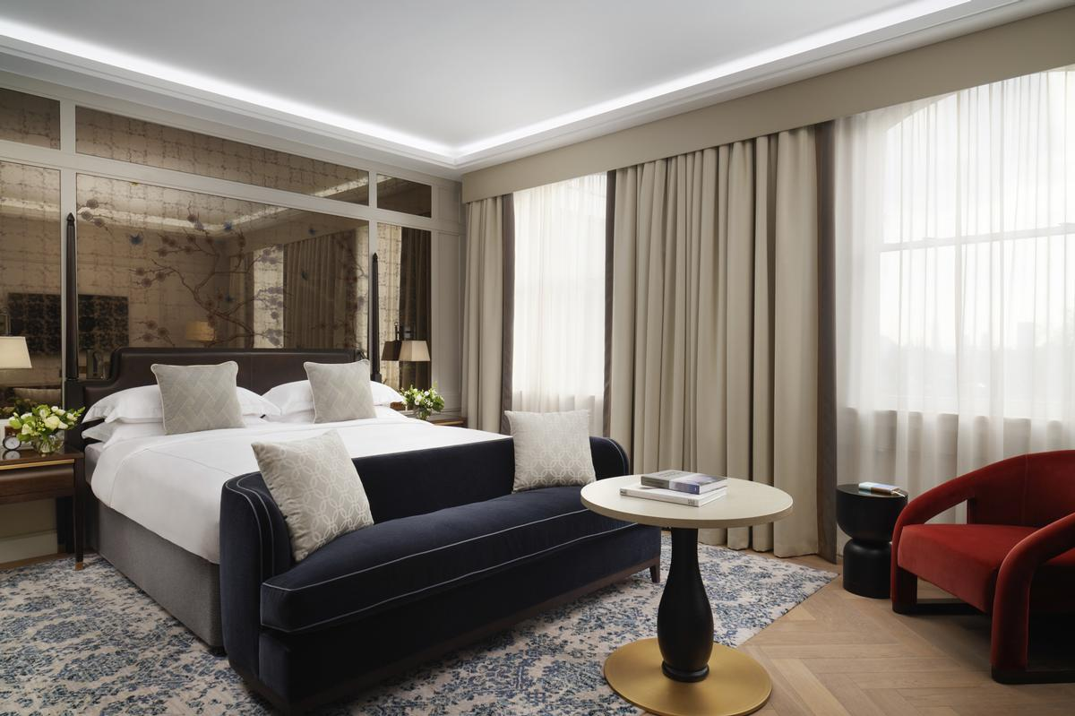 Tan Kian Seng, the interim group CEO of Millennium and Copthorne Hotels, said the rebranded hotel will be 'fit for royalty'. / Courtesy of LXR Hotels and Resorts