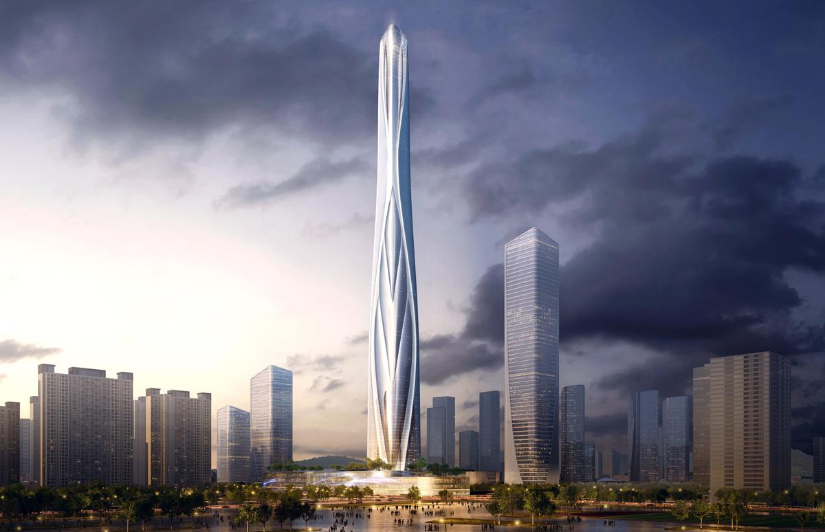 The design for the high-rise has been described as