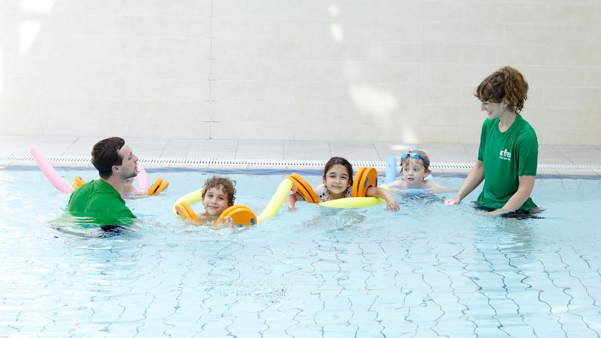 The partnership was set up in January 2018 to address the national shortage of swim teachers