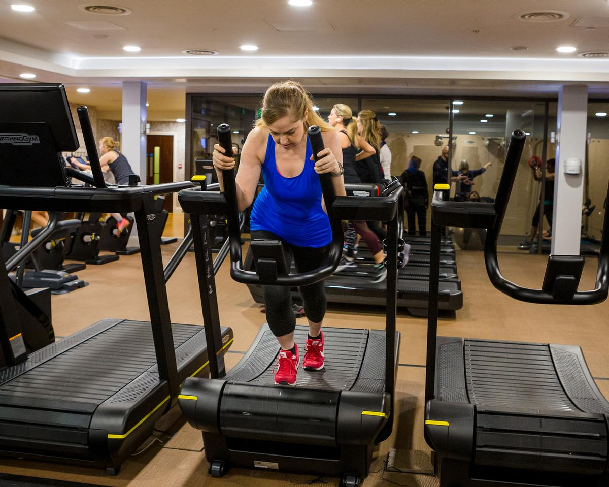 The gym features CV, resistance and functional training equipment from Technogym's Artis and Skill Lines