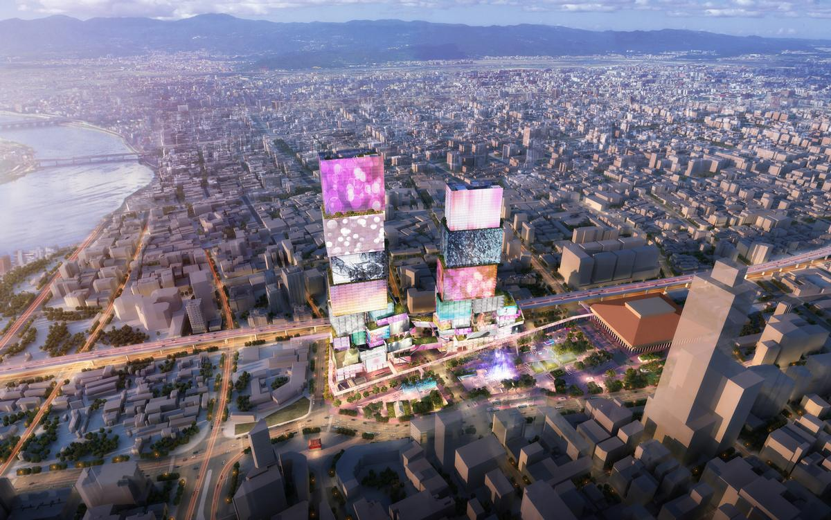 Nan Hai Development is overseeing the project's realisation. / Courtesy of MVRDV