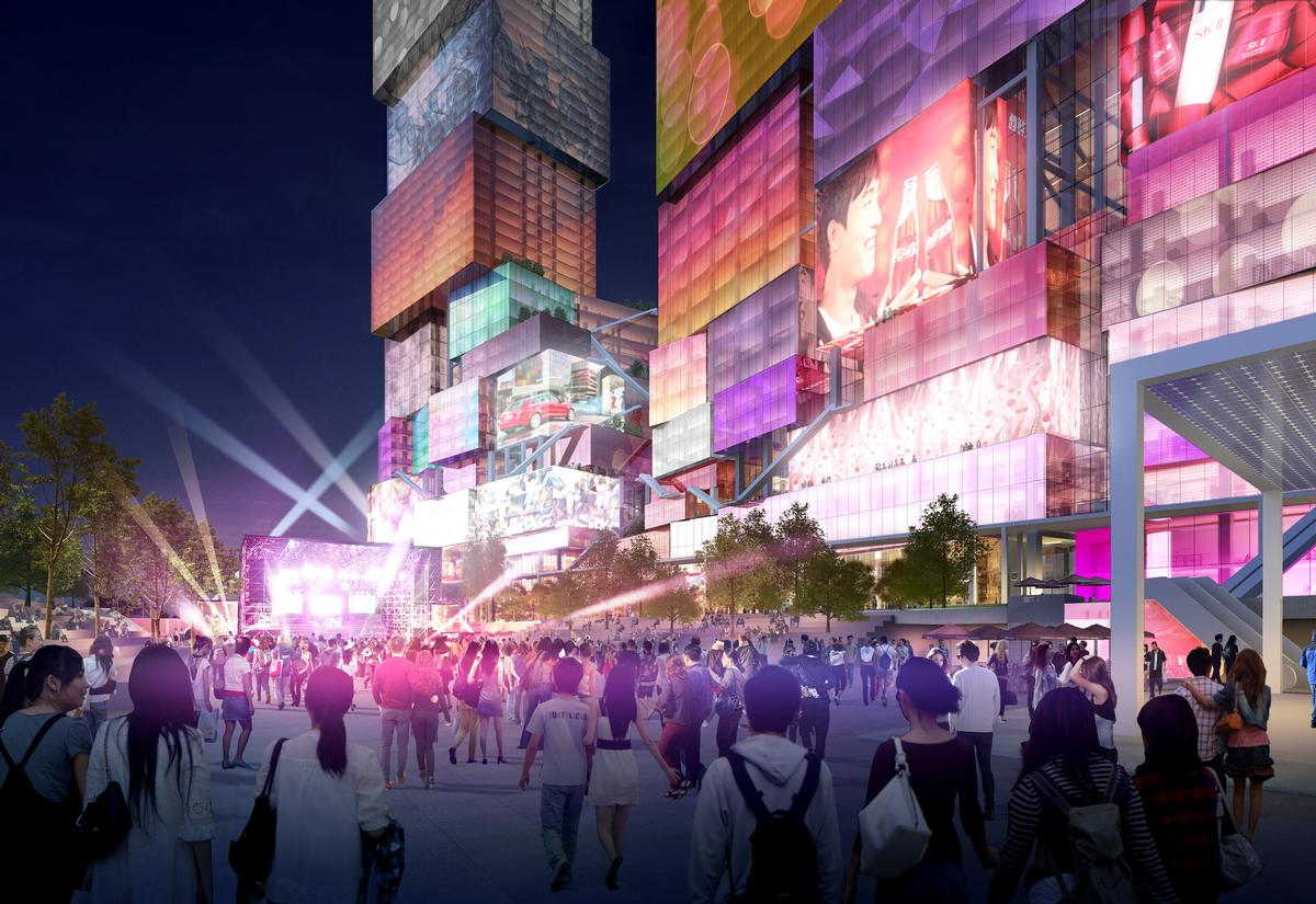 The design team also includes TOPOTEK 1, ARUP, CHY Architecture Urban Landscape, RWDI, and Mercury Fire Engineering Consulting. / Courtesy of MVRDV