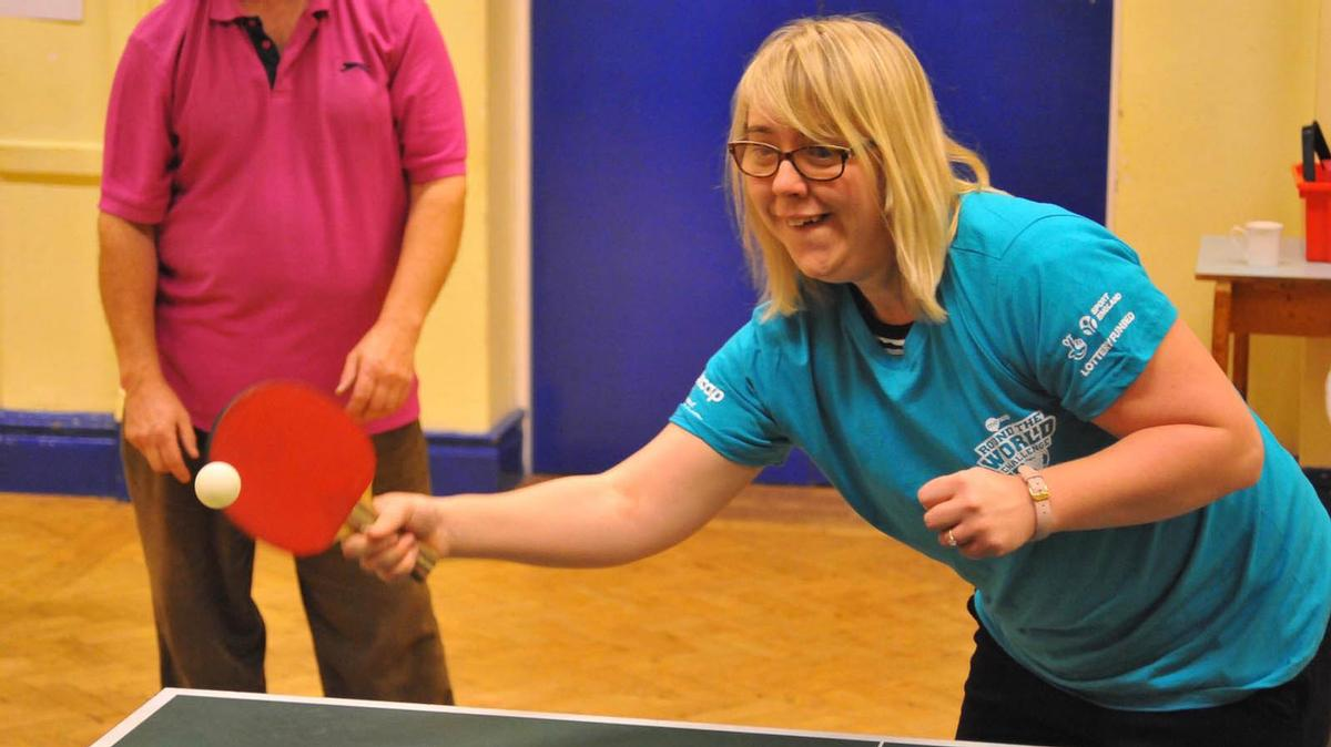 The hubs will offer a variety of activities, including Zumba, boccia and walking rugby – as well as more traditional sports, such as table tennis