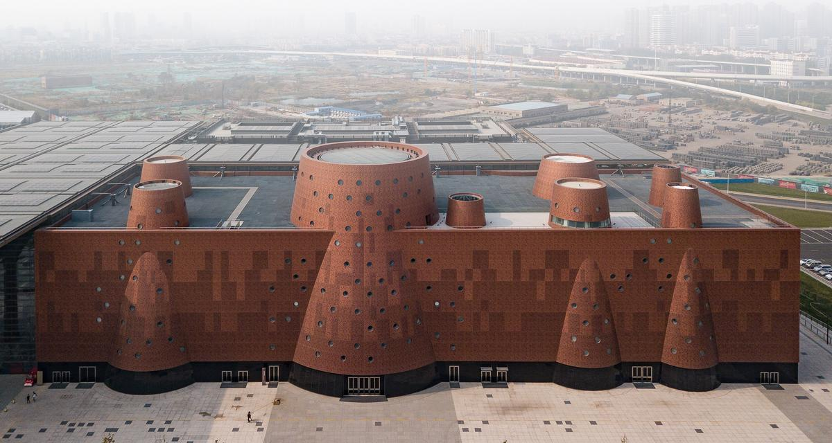 Bernard Tschumi Architects complete industrial sciences museum in China
