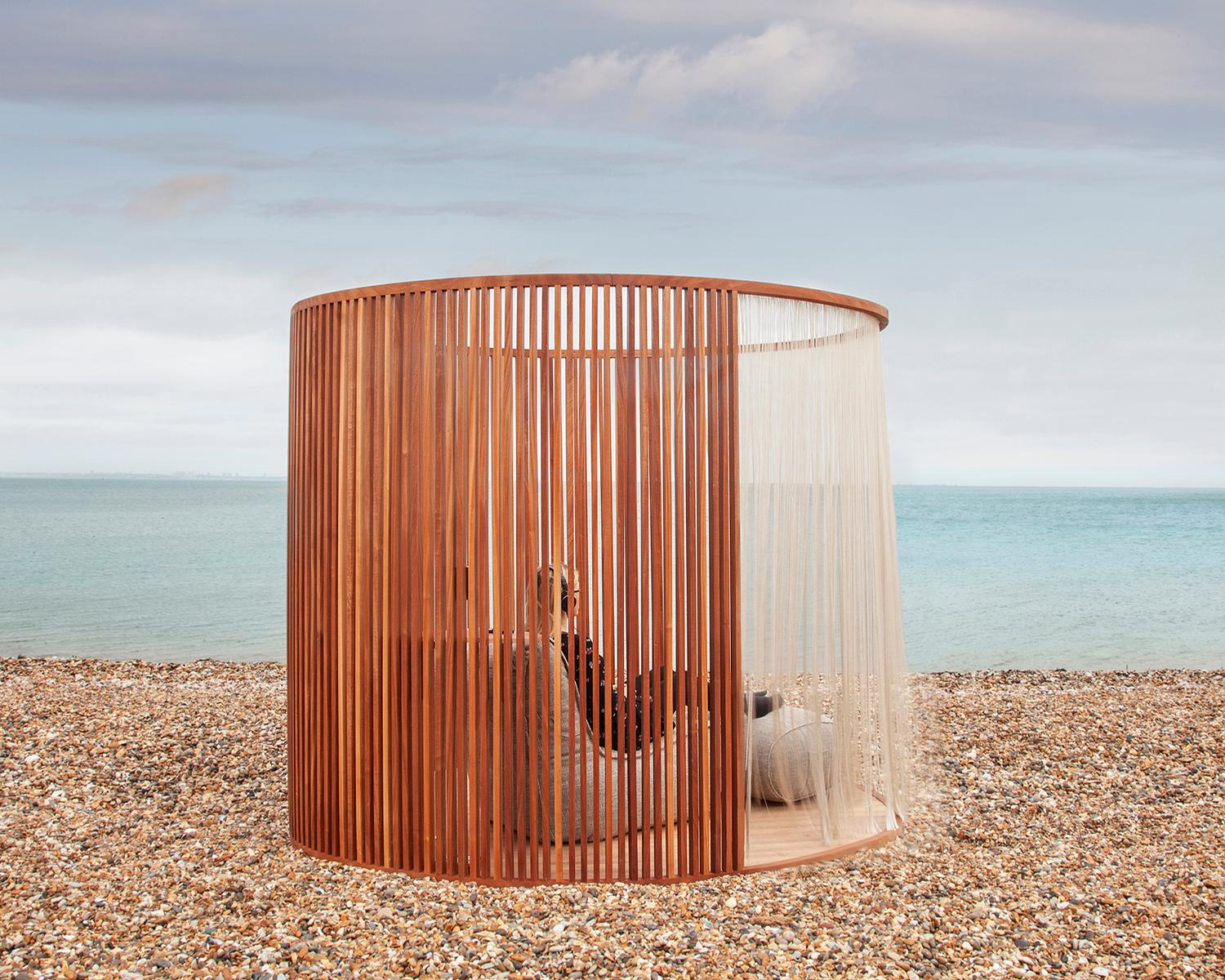 Inhere Studio collaborated with Design & That to create the meditation pods