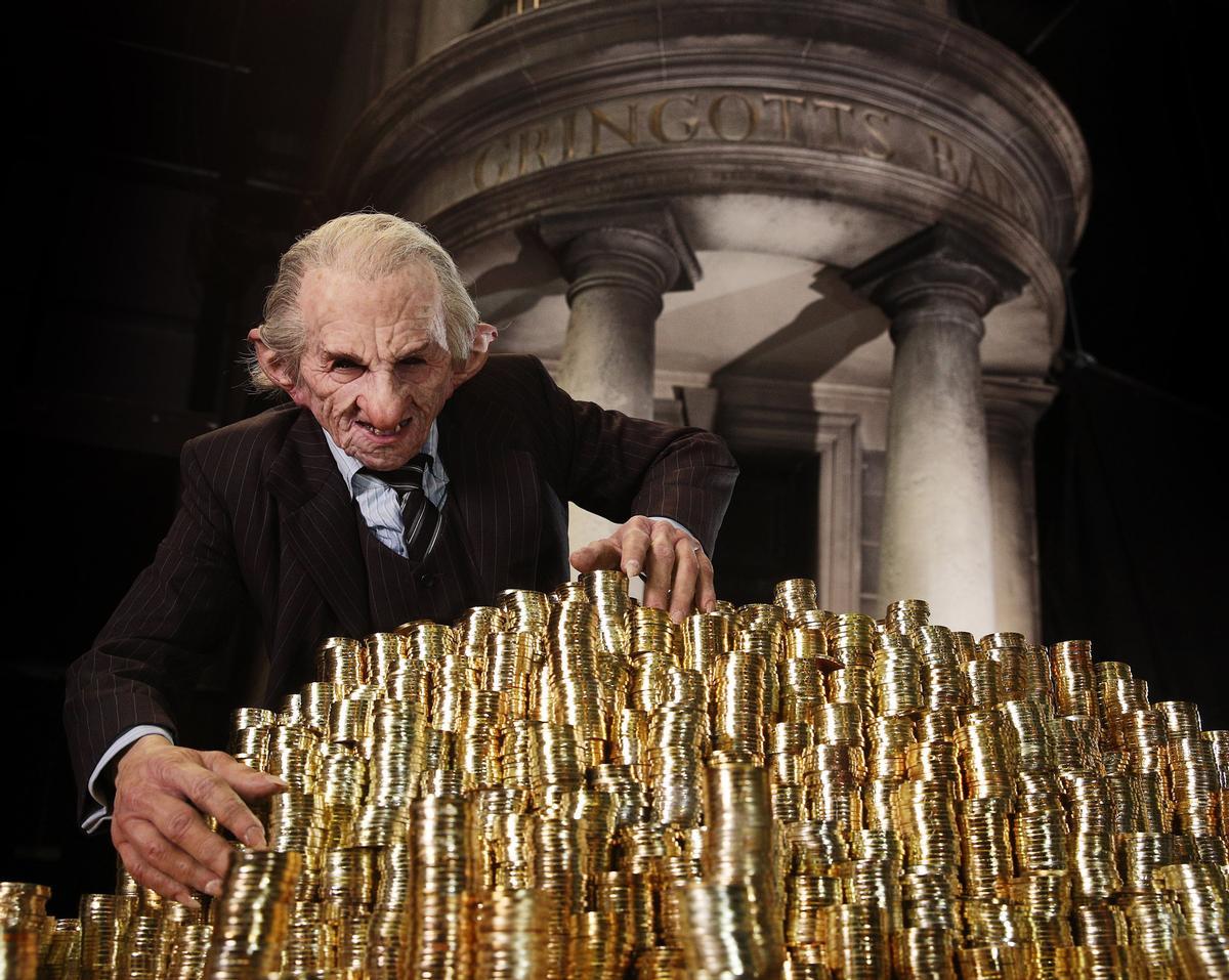 The Gringotts Wizarding Bank expansion at Warner Bros' Harry Potter studio tour opens in April.