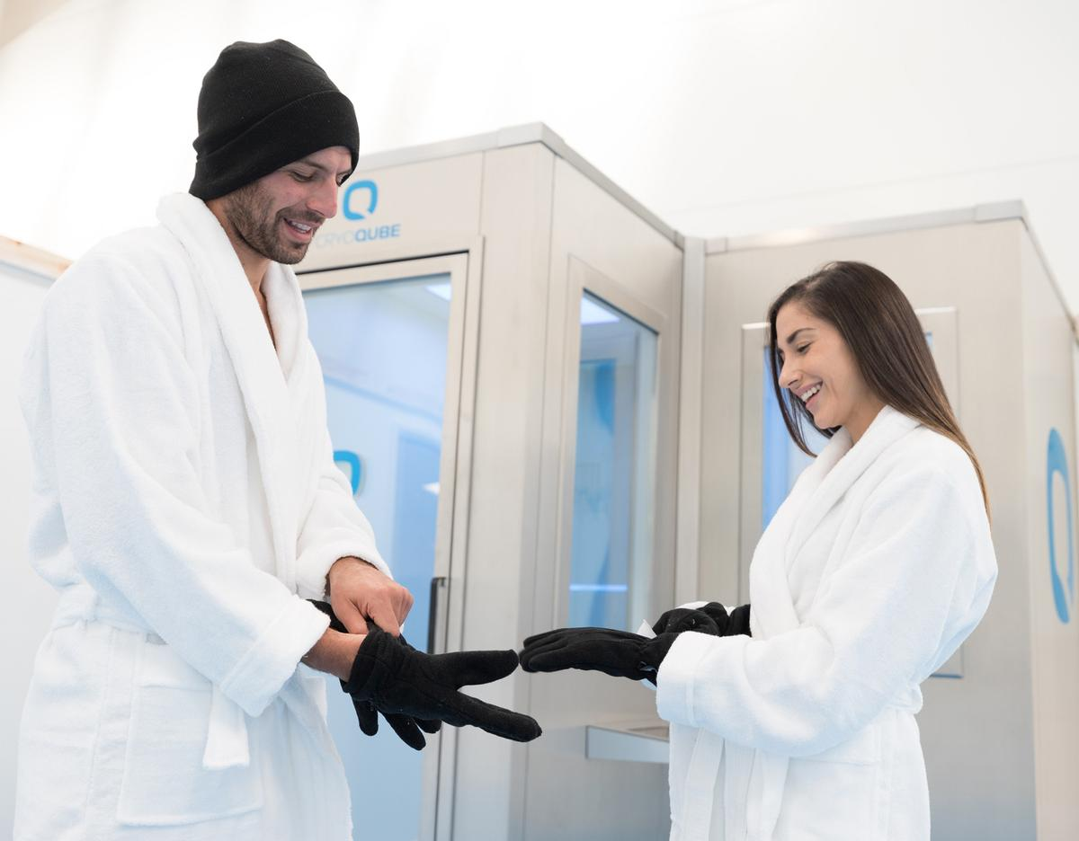 The CryoQube is the world's first whole body cryotherapy chamber to be designed and manufactured in Britain