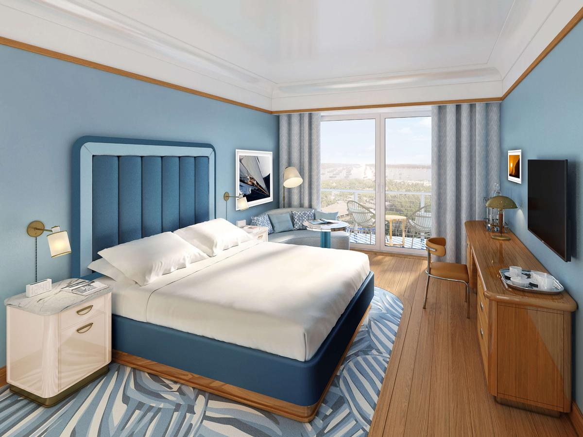 The hotel will feature 100 rooms and suites. / Courtesy of Mr. C Hotels