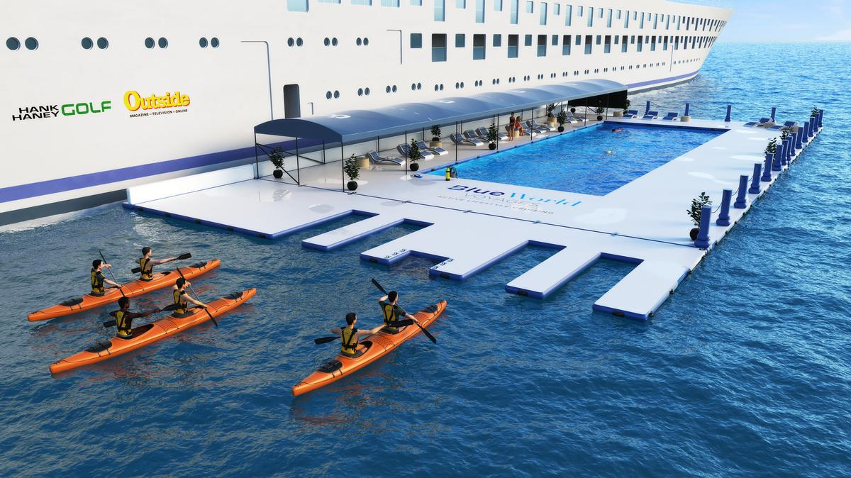Guests will have access to multiple onboard leisure, fitness, and wellness facilities. / Courtesy of Blue World Voyages