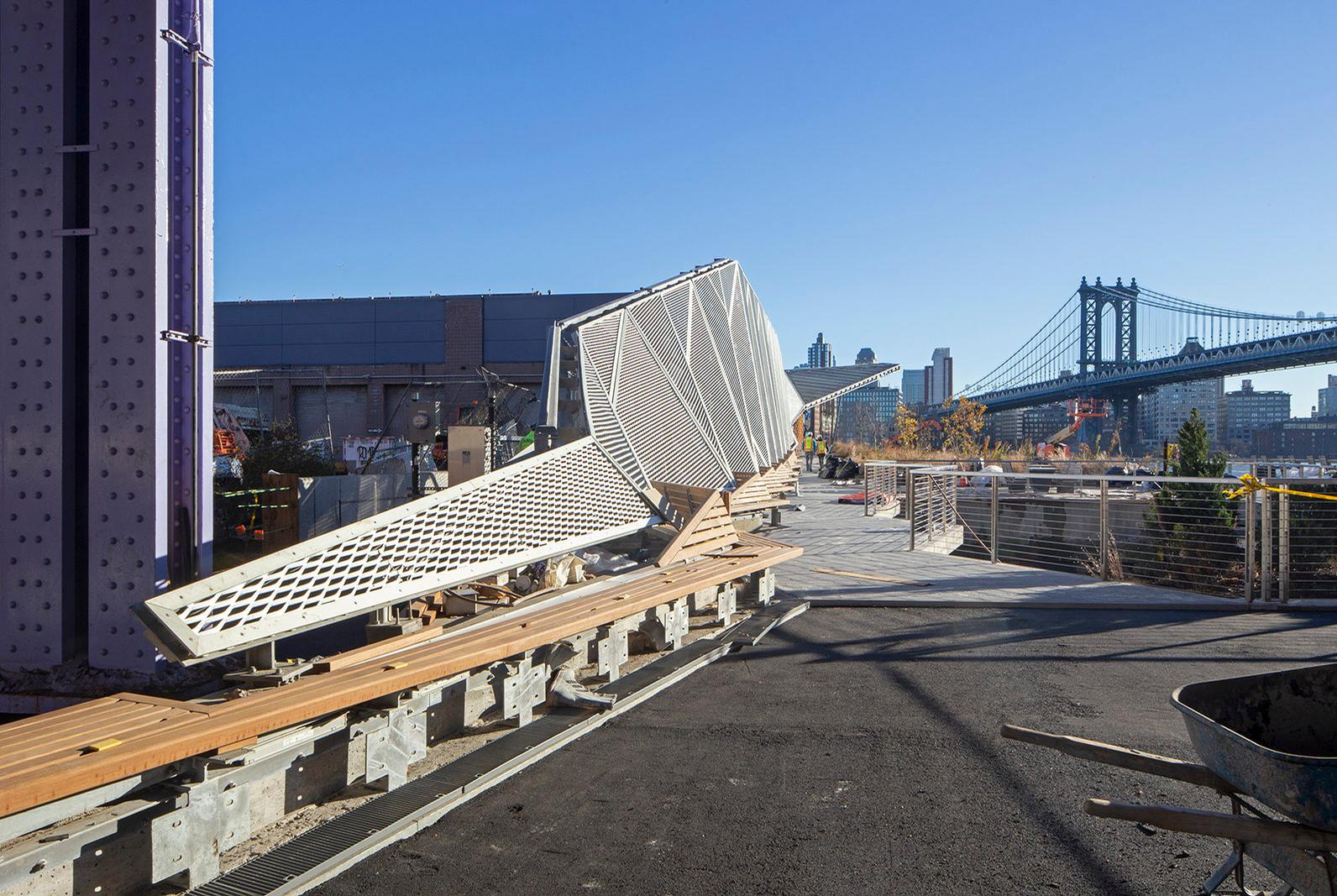 In a statement, NYCEDC executive vice president Seth Myers said Pier 35 would be 'integral to the area's recreational fabric'. / Courtesy of SHoP Architects