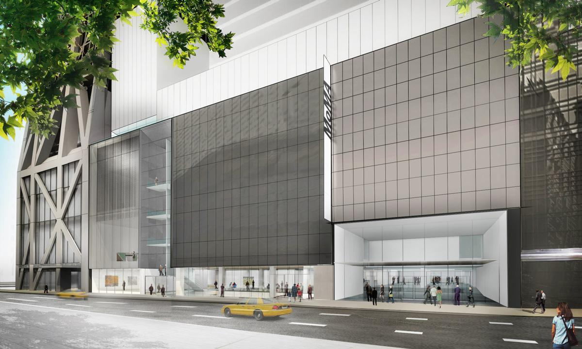 American architects Diller Scofidio + Renfro (DSR) collaborated with Gensler to design the MoMA's new sections. / Courtesy of the Museum of Modern Art