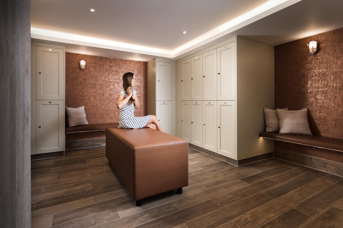 Crown Sports Lockers has upgraded the spa changing rooms at St Michaels Resort in Cornwall