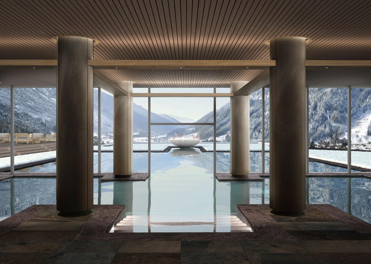 The residences are expected to debut in September. / Courtesy of Lefay Resorts