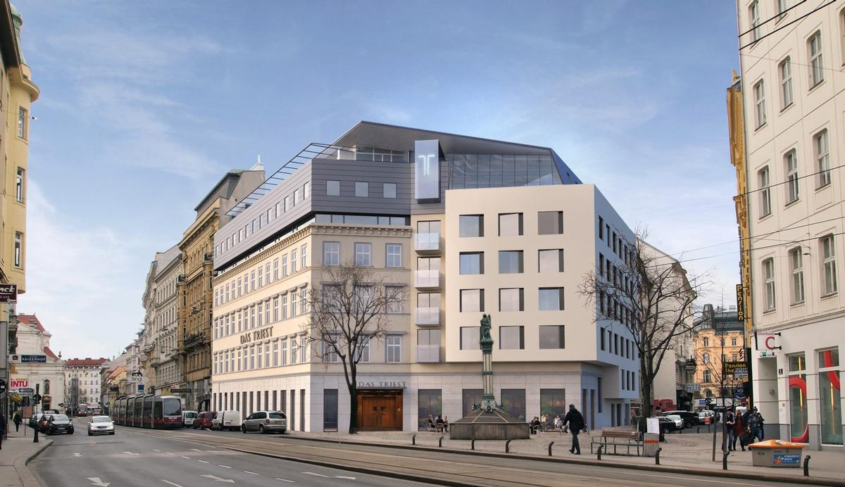 HD Architecken refurbished the hotel's exteriors. / Courtesy of Design Hotels