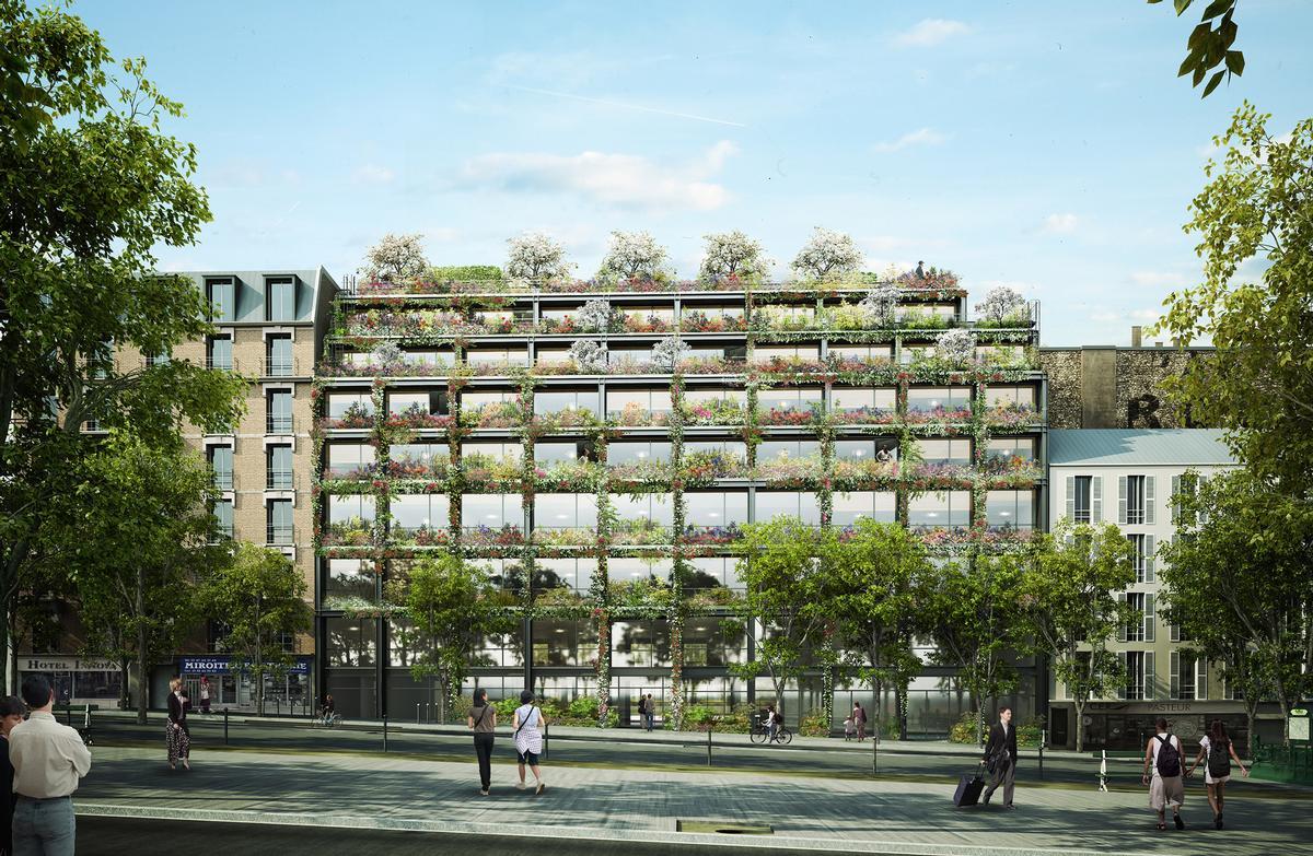 Designed by Triptyque Architecture and Philippe Starck, Villa M will explore the future of communal wellness. / Courtesy of Triptyque Architecture