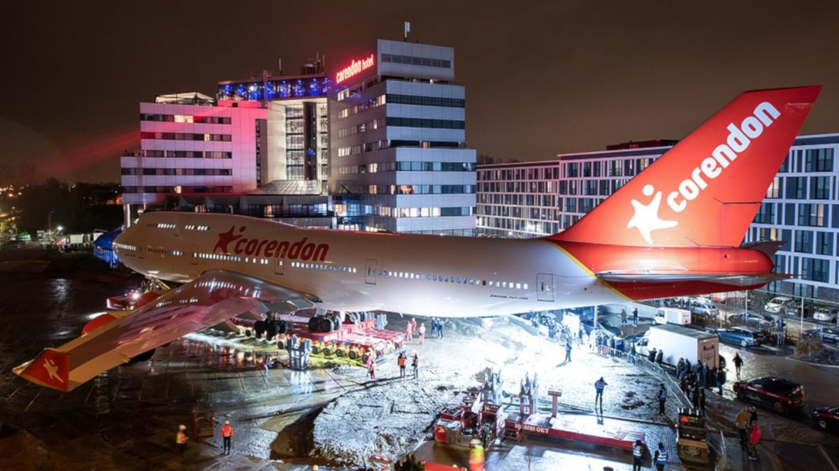 The <i>City of Bangkok</i> arrives at its new home / FlightGlobal.com