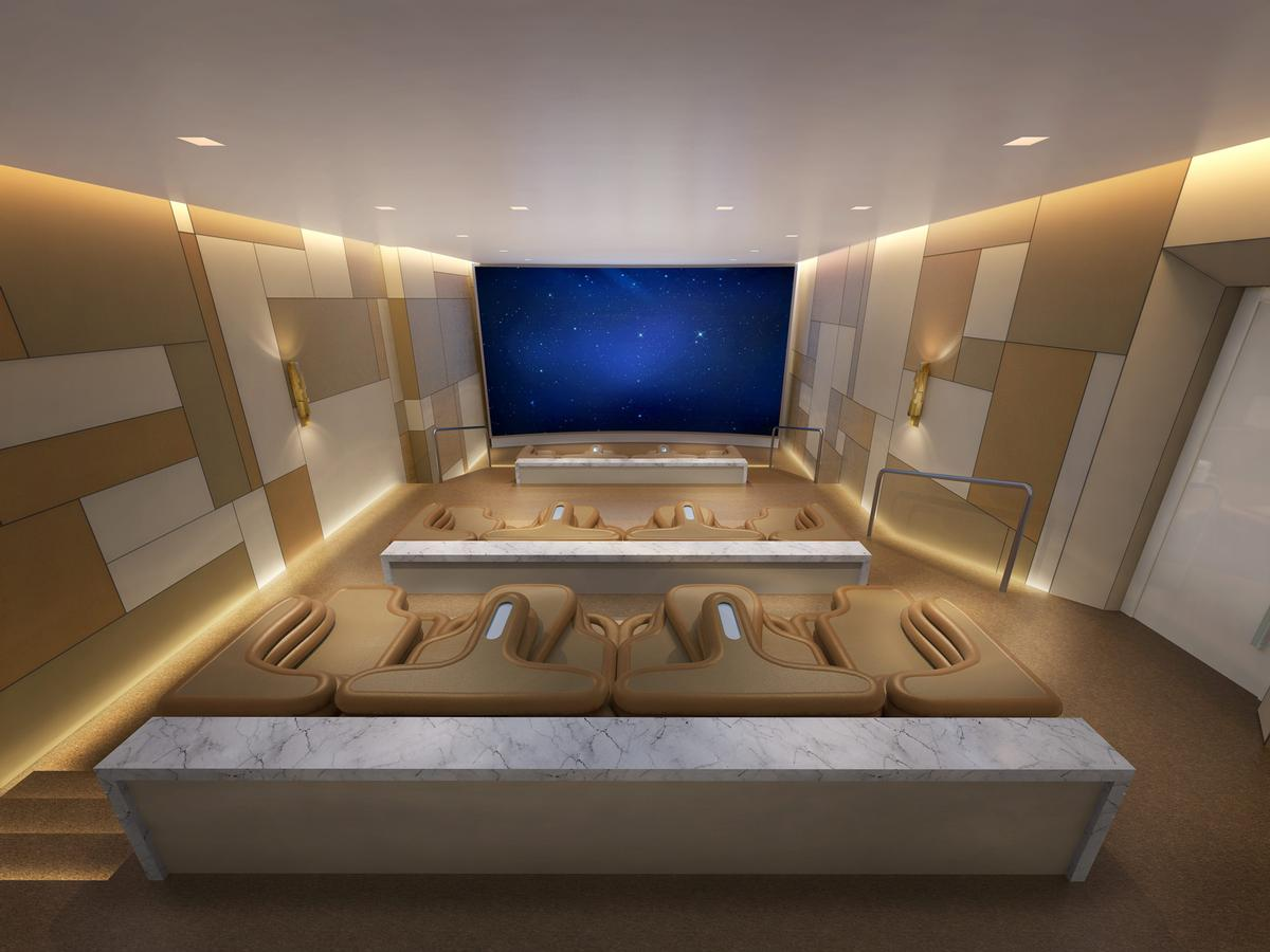 The property will also feature an IMAX private theatre and screening room. / Courtesy of Four Seasons Hotels and Resorts