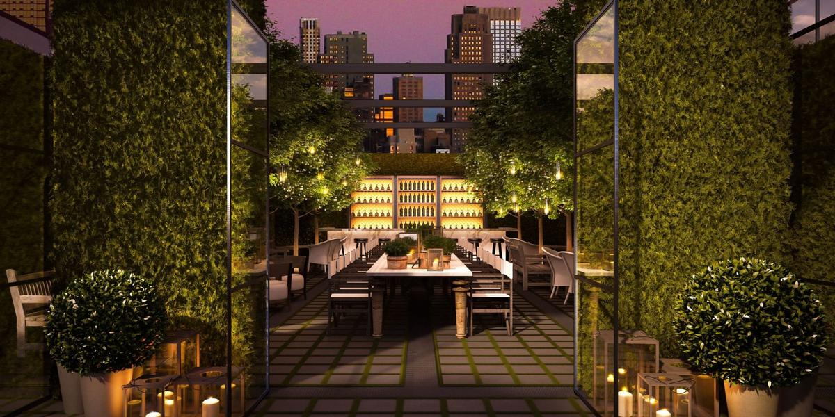 The soon-to-open hotel will boast four levels of public space as well as two gourmet restaurants. / Courtesy of Marriott International