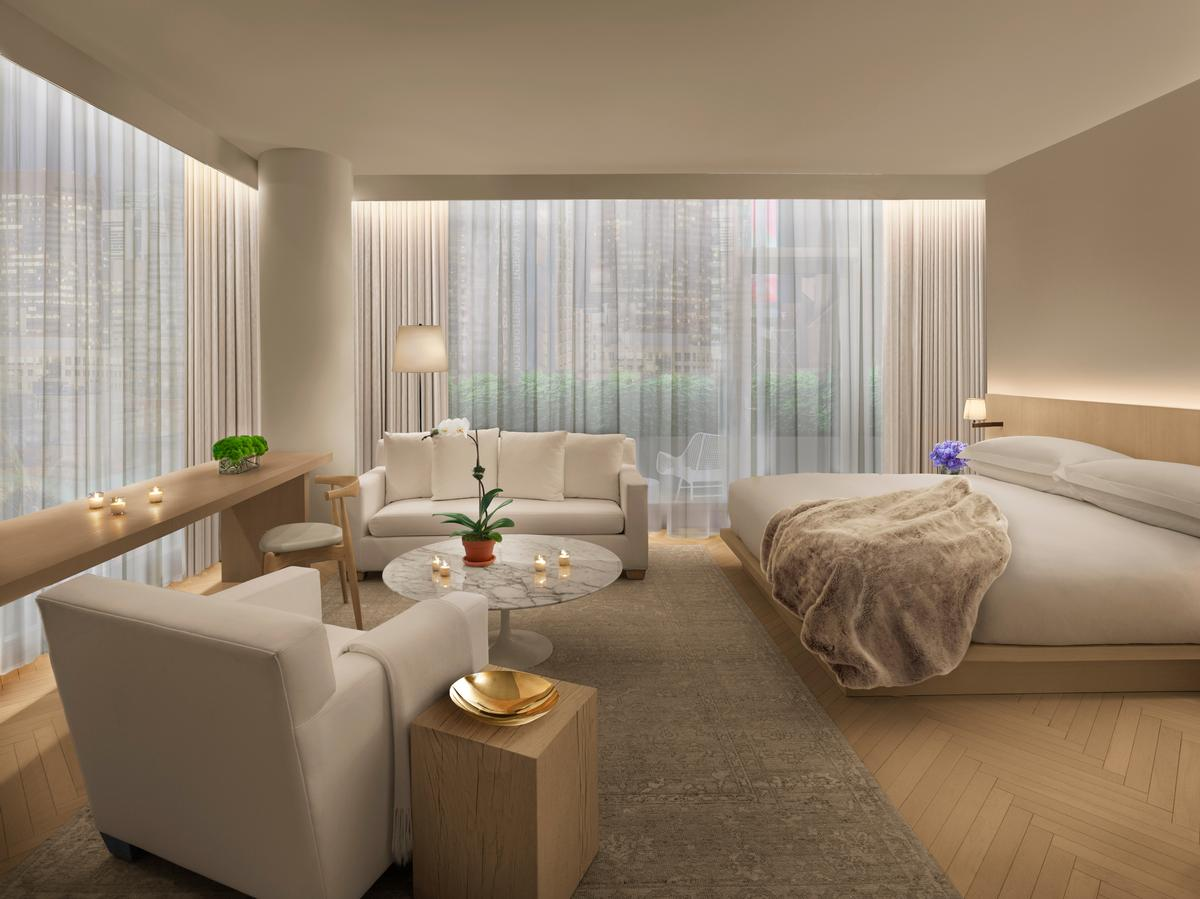 The hotel is scheduled to debut on 12 March. / Courtesy of Marriott International