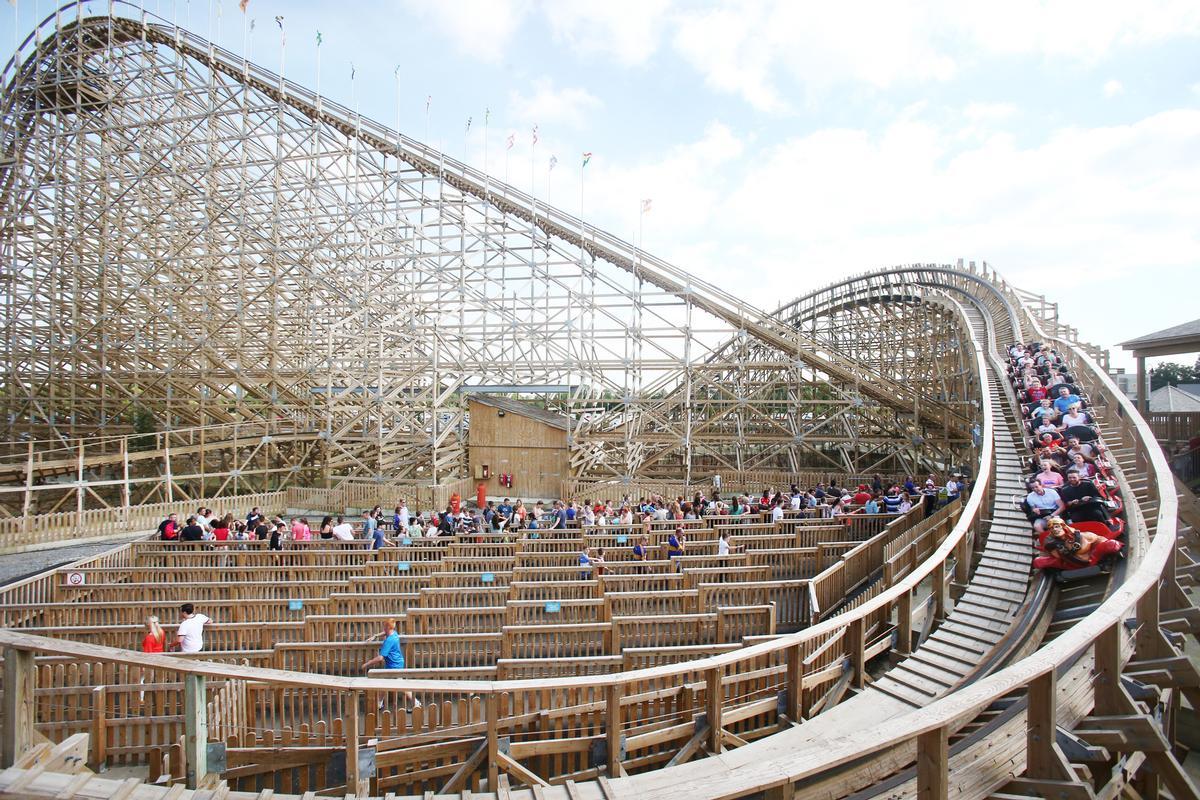 Tayto Park's existing coaster, Cù Chulainn, opened in 2015 / Tayto Park