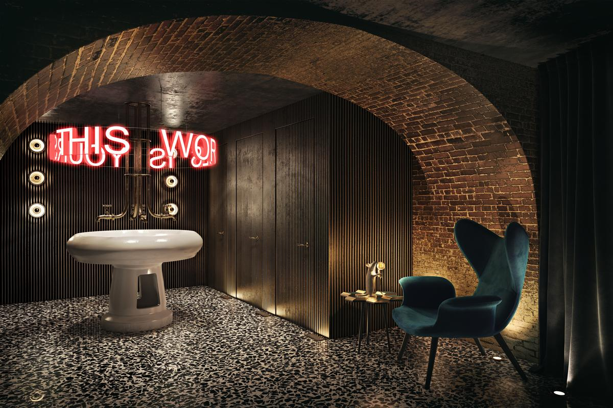 Chapter Roma is a member of the Design Hotels group. / Courtesy of Studio A