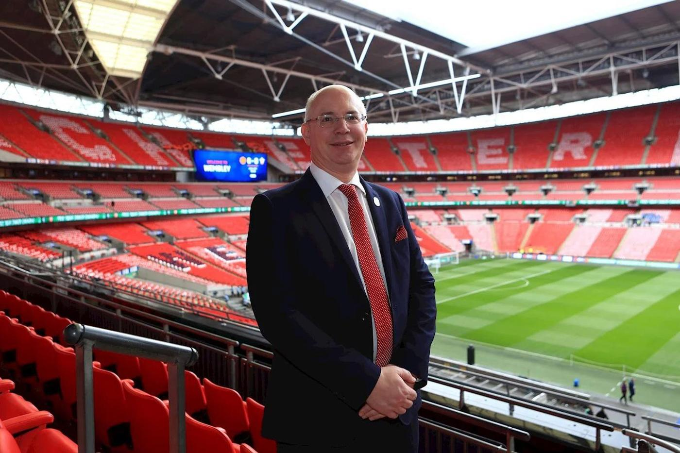 Harvey has worked in professional football for the past 25 years and became EFL chief executive in October 2013