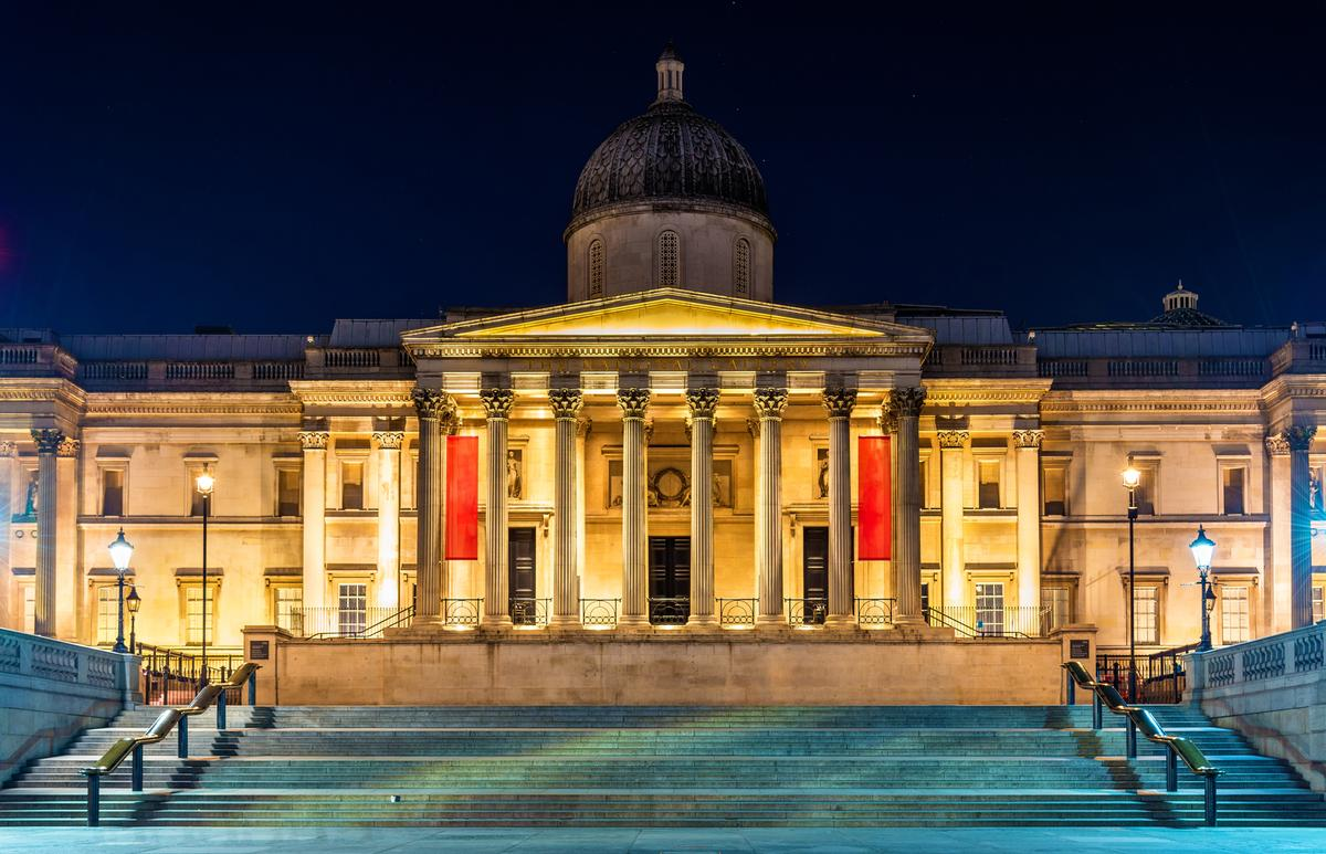 London's National Gallery in Trafalgar Square has international brand expansion plans / Shutterstock