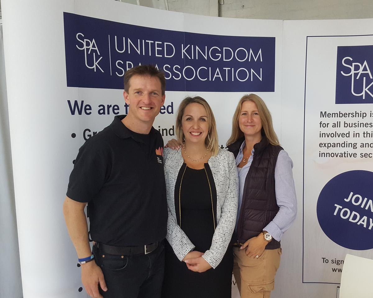 Lisa Barden (right) will take over the role of UKSA chair from Charlie Thompson (left) in March this year