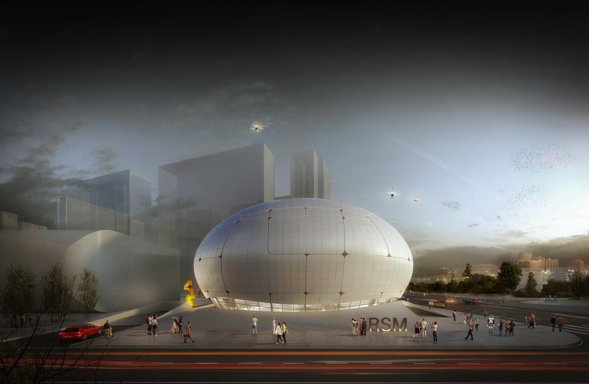Melike Altinisik Architects chosen to create self-constructing robot museum in South Korea