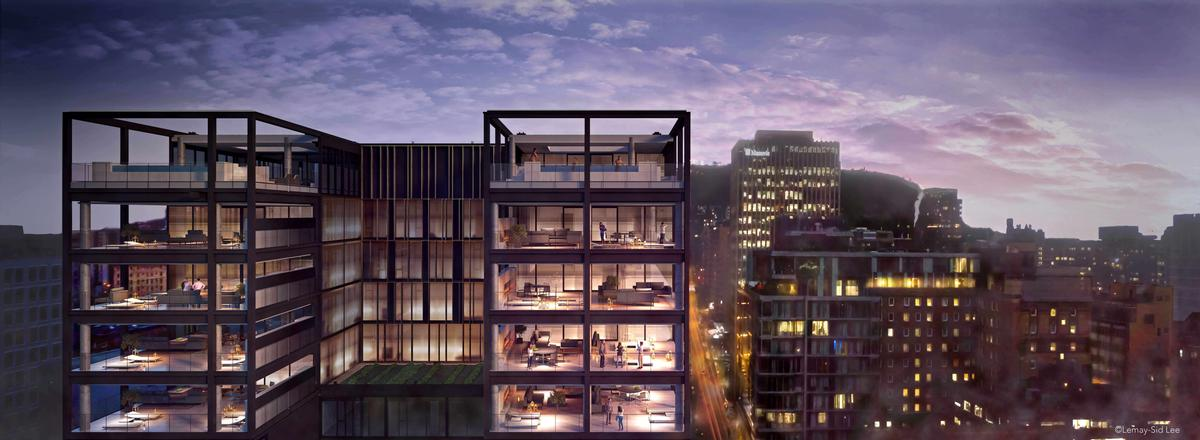 Four Seasons Montreal is scheduled to throw open its doors on 1 June. / Courtesy of Lemay+Escobar