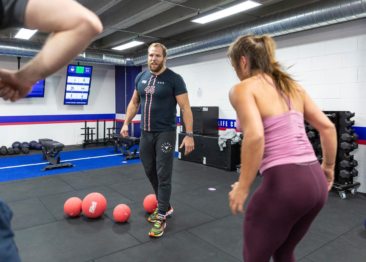 Haskell has opened a F45 functional training studio in Bath