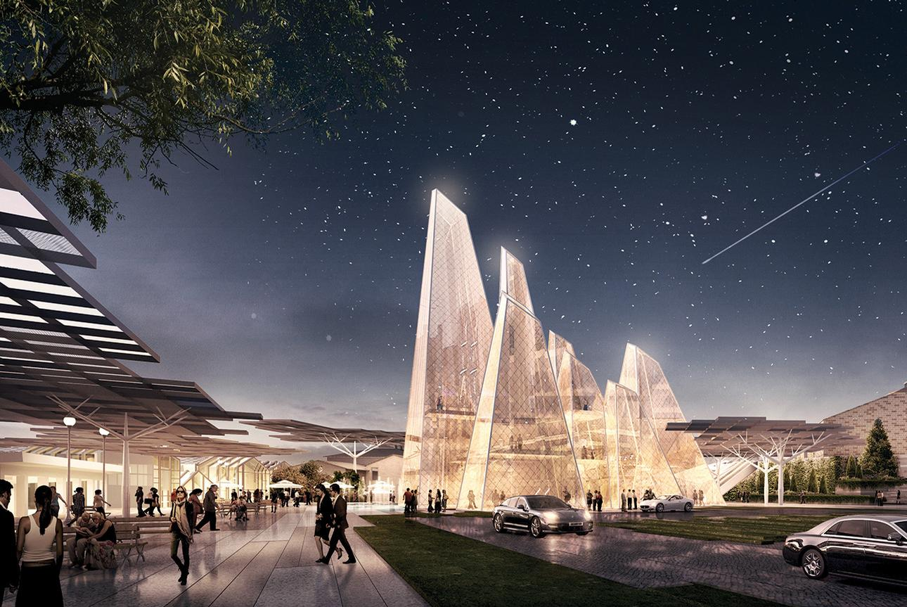 DP Architects has been appointed as lead Design Architect for Tersane Istanbul / DP Architects