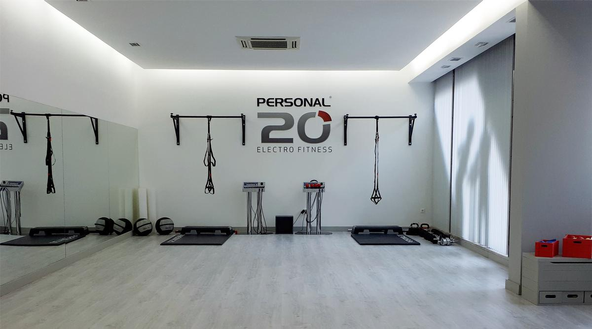 The studio offers electrical muscle stimulation training as well as group exercise classes